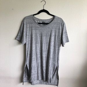 Side zip tunic